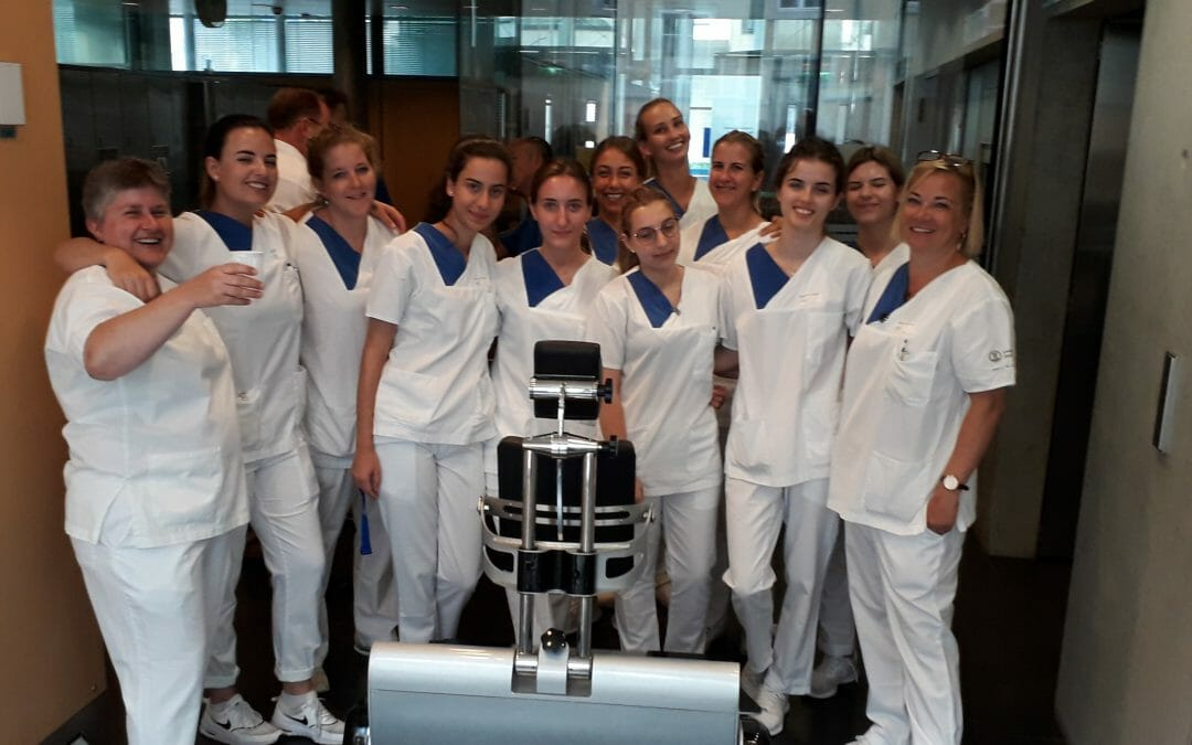 Visit to a top Dental University
